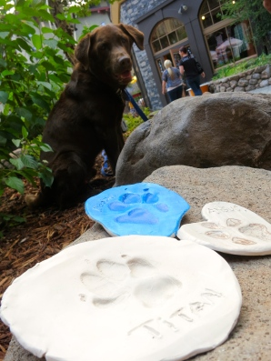 Peaks and Paws event THIS WEEKEND: make your own clay dog