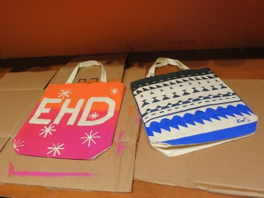 Everything Hunky Dory Stencil Bag